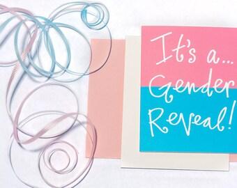 Greeting Card: Gender Reveal