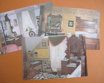 William Lyon Mackenzie King Woodside Postcards (set of 3) / Prime Minister Canada boyhood home postcards
