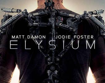 Elysium 11.5x17 Promo Movie POSTER