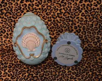 1994 Avon Seashells of Summer Egg Collection