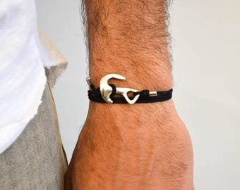 Anchor Bracelet Men, Navy Bracelet, Men's Bracelet, Men's Jewelry, Gift for Him, Made in Greece by Christina Christi Jewels.