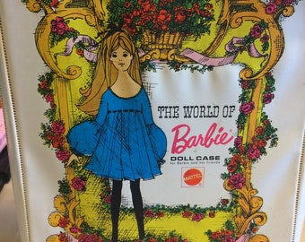 Vintage Barbie Doll Case, 1968. Barbie dolls, Barbie doll clothes storage, toys and games, home and living, collectibles.