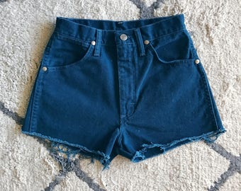 Teal High Waisted Cutoffs