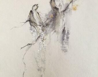 Hope Series fig.14 number3 -- Fine Art Painting