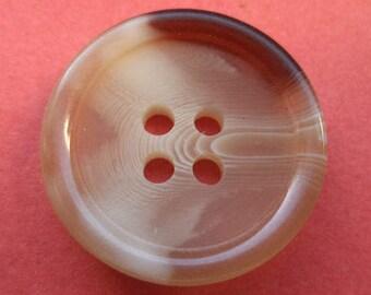 10 beige buttons 18mm (1648)