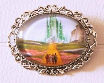Dorothy - The Yellow Brick Road brooch