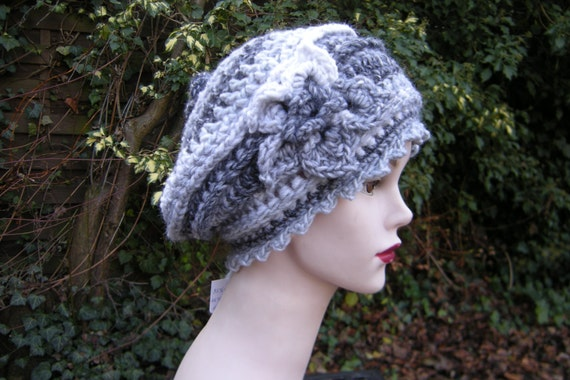 "Hat Cap ""Emilie"" - grey"