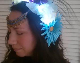 Floral Goddess LED Headdress