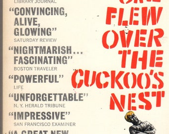 One Flew Over The Cuckoo's Nest Movie Paperback Book 1962 Ken Kesey Signet
