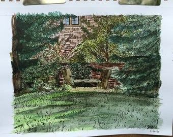 4x6 Print - Williamsburg, VA / College of William & Mary