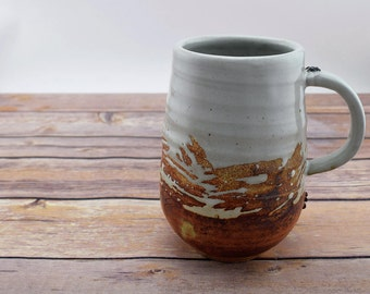Handmade Ceramic Mug, Coffee Cup, Coffee Mug, Ceramic Coffee Cup, Ceramic Coffee Mug, Tea Cup, Gift Idea, 16 oz