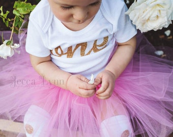 Valentines Day outfit, pink tutu, first birthday, cake smash outfit, toddler tutu, newborn tutu, princess tutu, tulle skirt, first birthday