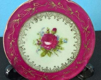 Small Flat Saji Collectible Plate