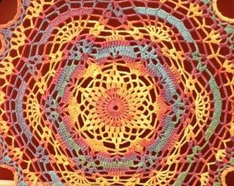 Crochet Star Mandala