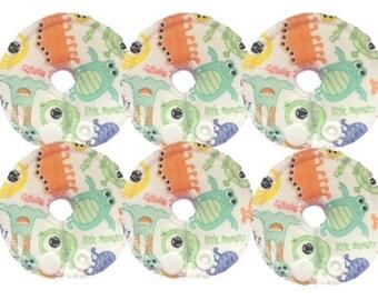 Set of 6 G tube pads feeding tube covers