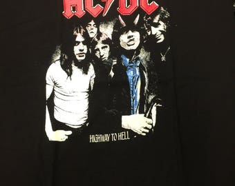 ACDC Highway To Hell Design Shirt