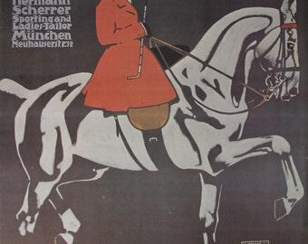 Vintage Ludwig Hohlwein Hermann Scherrer 1920-Poster Print