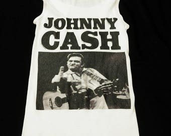 Johnny Cash tank top, Johnny Cash shirt, Women's Johnny Cash tank top, Johnny Cash, Country shirt, Country Music, Classic Country, Cash