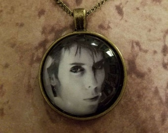 Peter Murphy of Bauhaus pendant necklace