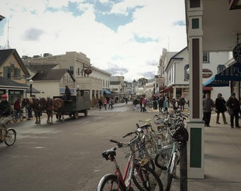 Downtown Mackinac Island, Michigan