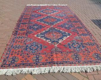 Tribal Rug, Soumak Rug, Vintage Rug, Area Rug, Tribe Rug, Turkish Rug