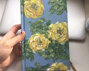 Hand-Painted Custom Journals