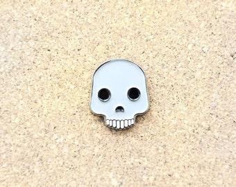 Skull Emoji Lapel Gothic Hat Pin