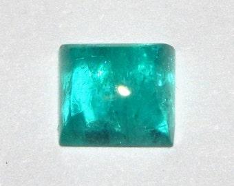 Paraiba Tourmaline Blue Cabochon, .75 Ct., Flawless, Rectangular