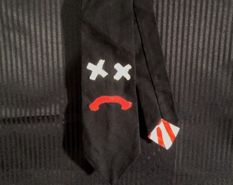 Frown Face Tie