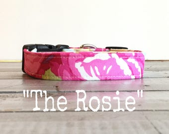 DOG COLLAR, Dog Collars, The Rosie, Dog Collars, Dog Collars for Girls, BLooM, Floral