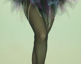 Tutu style ballet with or without beaded fringe