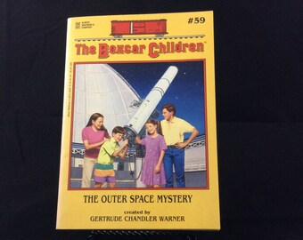 The Boxcar Children #59 The Outer Space Mystery 1997 paperback book