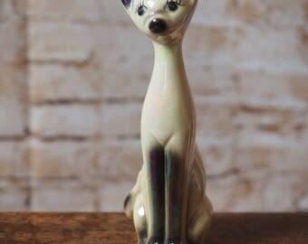 Tall Vintage Cat Ornament