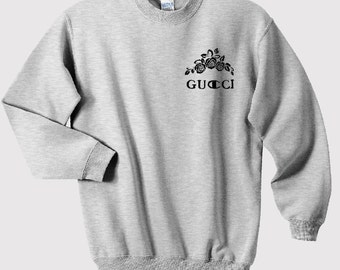 Gucci Champion designer logo luxury funny tumblr sweatshirt hoodie sweats