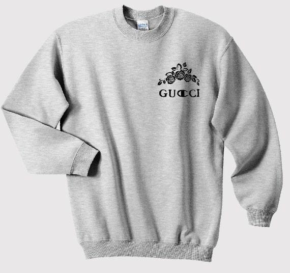 gucci champion designer logo luxury funny tumblr sweatshirt. Black Bedroom Furniture Sets. Home Design Ideas