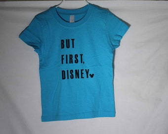But First, Disney Turquoise Kids