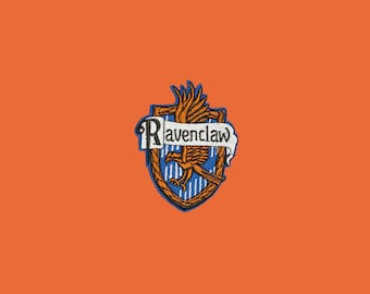 Harry Potter Ravenclaw Iron-On Patch Embroidered Patch Hogwarts 90s