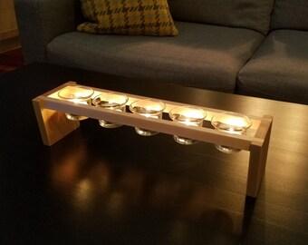 Wood Candle Holder - Hardwood Maple