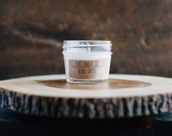 Black Coffee - Scented Soy Candle 3oz