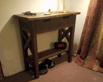 Repurposed, Console Table, Foyer Table, Entryway Table, Rustic Table