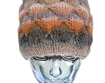 Cap wool Lila - fall colors