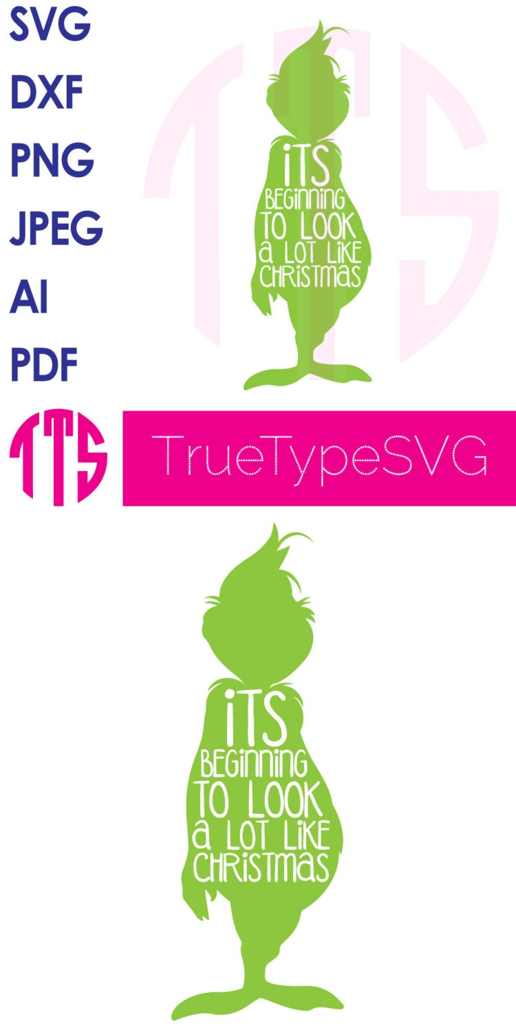 Download SALE How The Grinch Stole Christmas SVG Print & Cut by ...