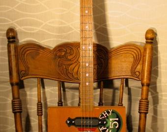 Carlos Torano Delta Blues Cigar Box Guitar