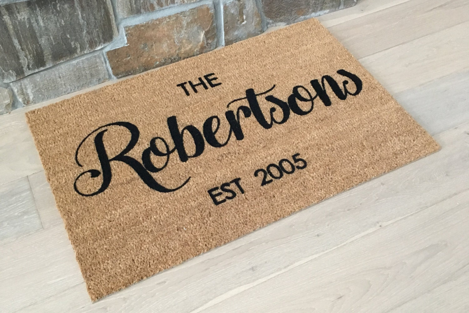 Floor mats kenya - Name Doormat Rug With Family Name Family Name Gift Personalized Doormat Last Name Gift Custom Door Mat