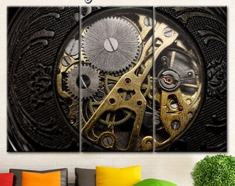Steampunk Wall Art Etsy