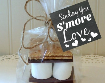 S'mores Favor Tags, Printable Favor Tags, Instant Download, S'mores Bar, Wedding S'mores, Smores labels, Printable Smores Tags, Smores Party