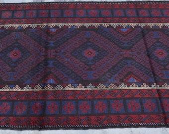 Stunning Afghan Tribal Baluch Rug / Nomadic Rug