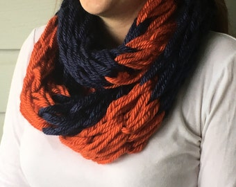 Auburn University Fan's Infinity Scarf