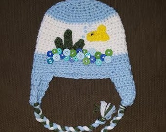 Baby Boy Fish HAt