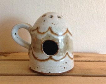 Rustic Pottery Incense burner.  Hand Made. Rustic.